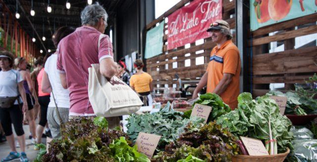 Ponce City Farmers Market – Aluma Farms, Photo by Beth Blackwell