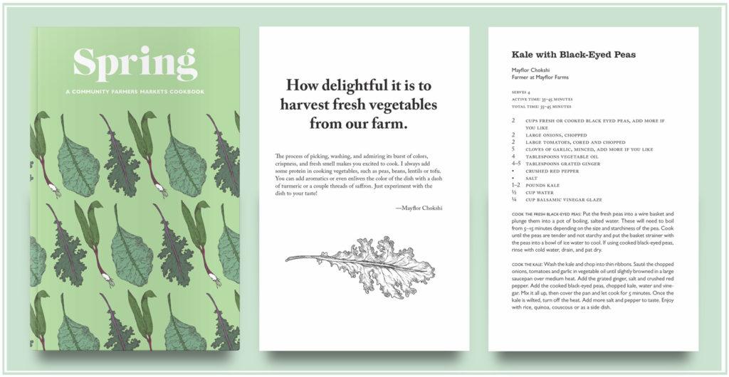 Spring Seasonal Cookbook