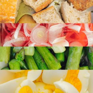 2016-04-16 Breakfast Crostini Collage Chef Dani