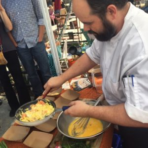 2016-04-24 Chef Andrew Smith WFM Soft Scrambled Eggs 2