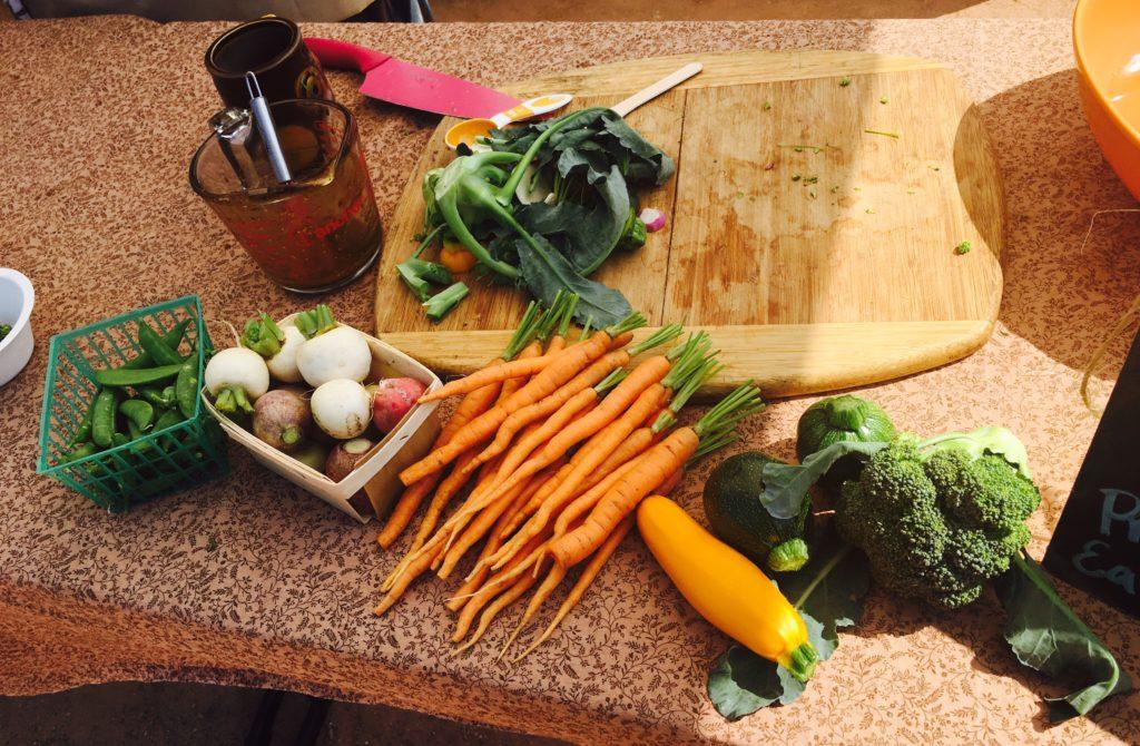 2016-05-07 Chef Dani Spring Veggie Prep