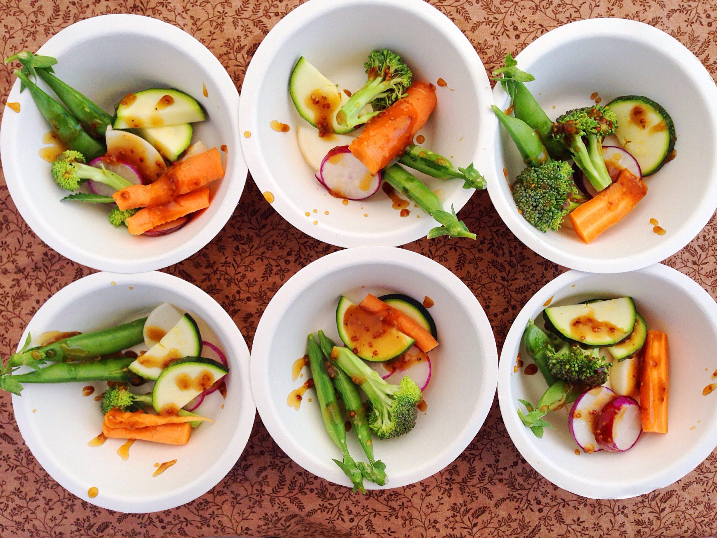 2016-05-07 Chef Dani Veggie Crudite Samples