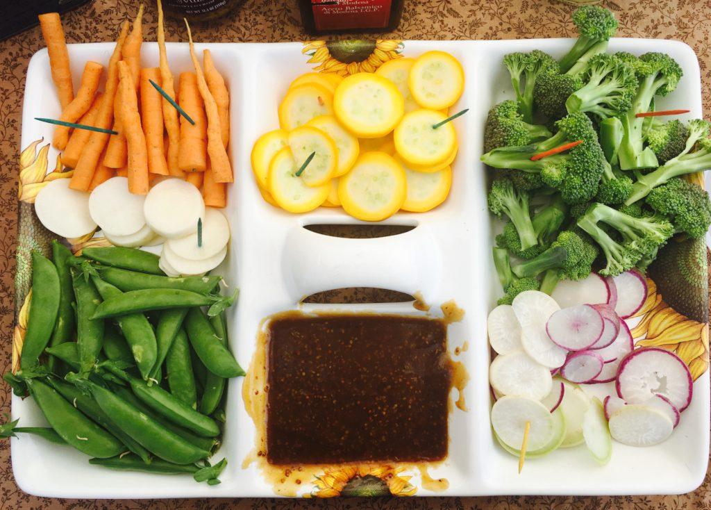 2016-05-07 Chef Dani Veggie Crudite Veggie Platter