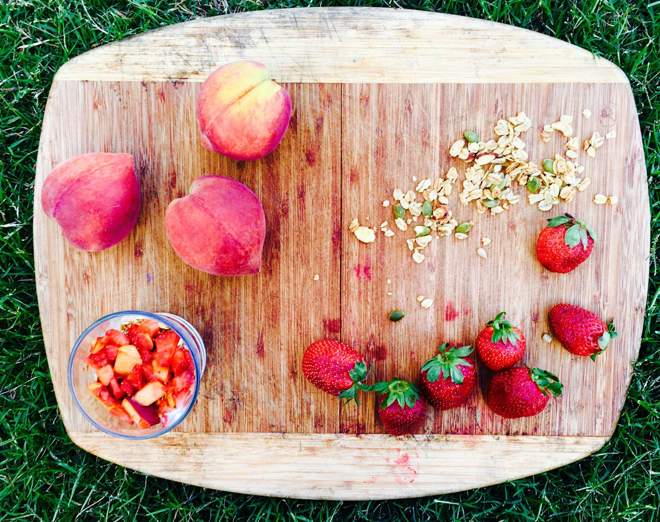 2016-05-18 chef paola fruit parfait overhead