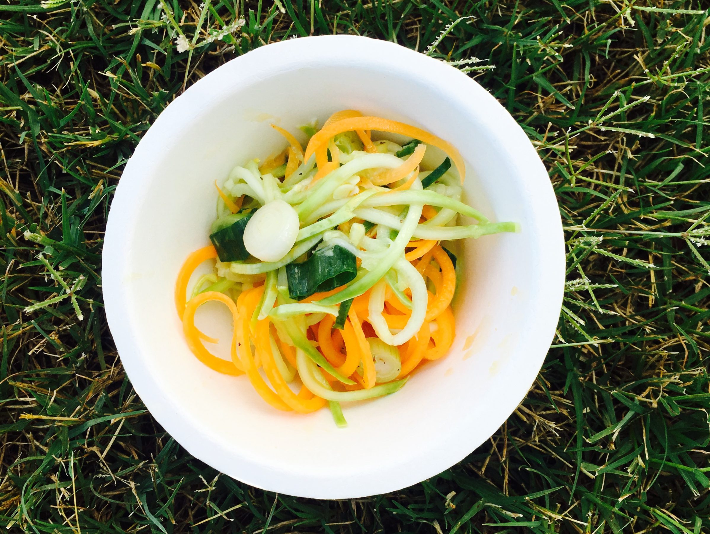 2016-06-15 Chef Hausman Zoodles Sample DFMW