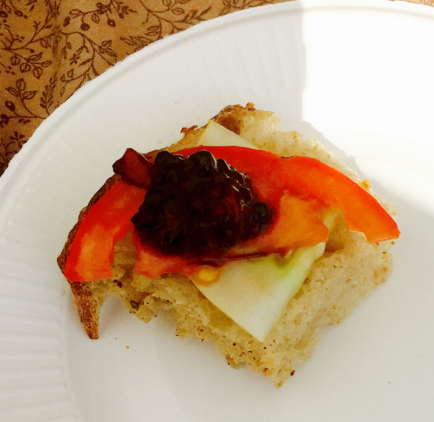 06-22-2016 Chef Paola Blackberry and Veggie Toast