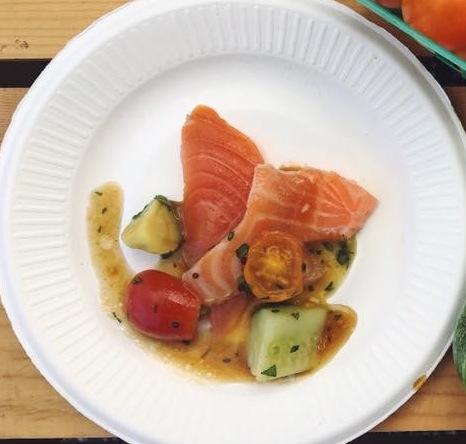 Chef Jackie Chang Oku Salmon Salad WFM 07.03.2016  copy