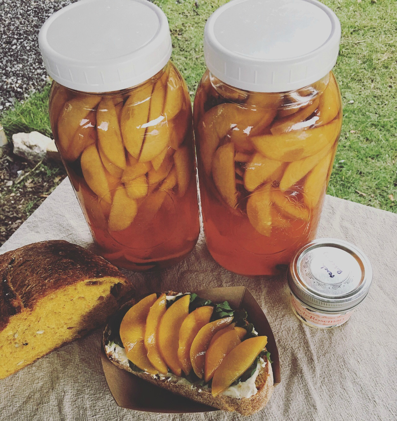 2016-07-21 Chef Ladd Pickled Peach Sliders EAV