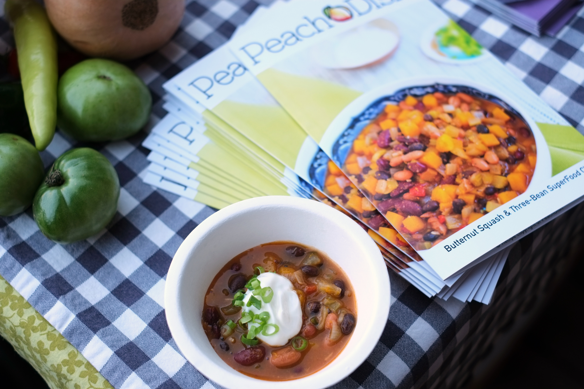 3 bean chili from Seth Freedman of Peach Dish